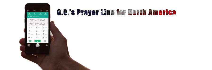 Daily Prayer Line